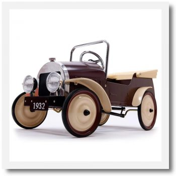 Baghera Classic Country Pedal Car