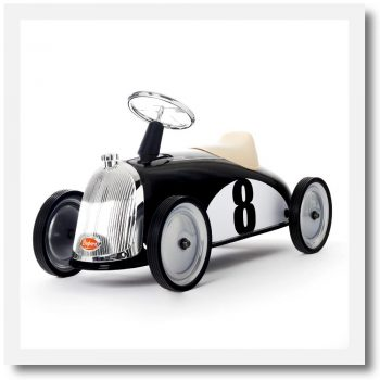 Baghera Rider Black Ride-On Car