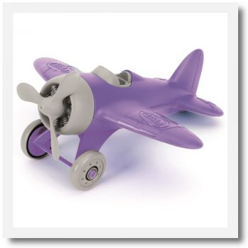 Green Toys Airplane Purple Wings (Limited Edition)